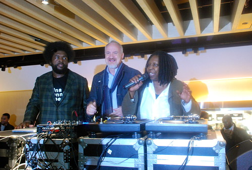 Whoopi Goldberg, Art Smith and DJ Questlove
