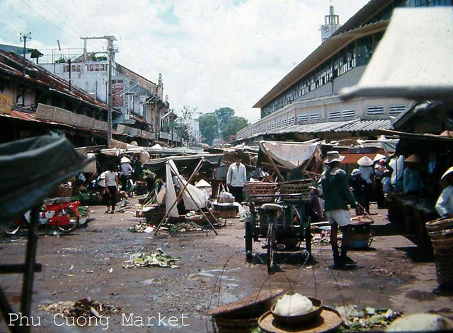 Phu cuong Market 1968-69
