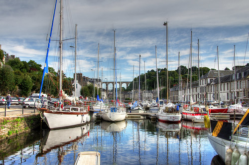 Flickriver most interesting photos from morlaix brittany - Liste des ports de plaisance en france ...