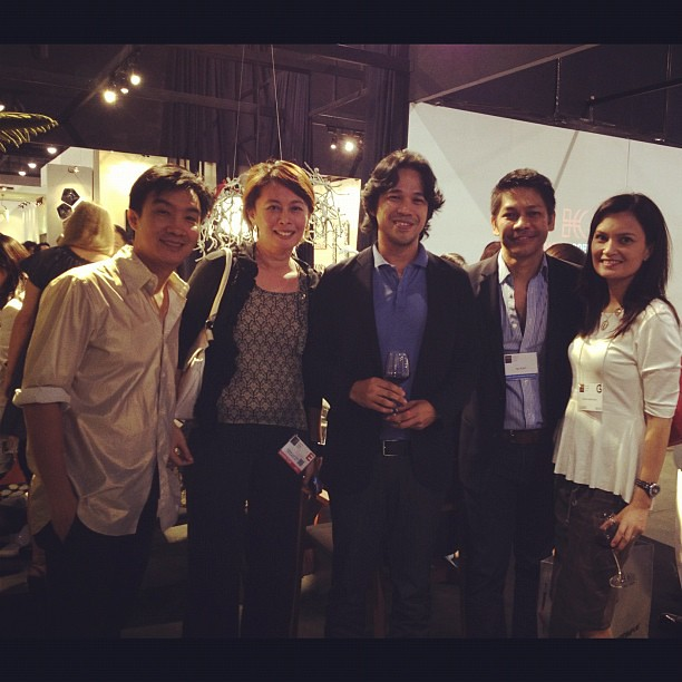 With @KennethCobonpue, Estela, Royal, @itokish at #manilafame