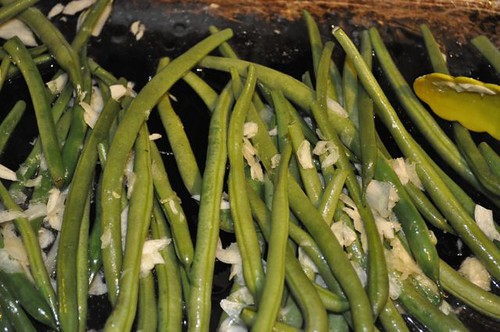 green beans with crispy sage 16