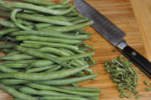 green beans with crispy sage 4