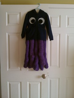 no sew octopus costume