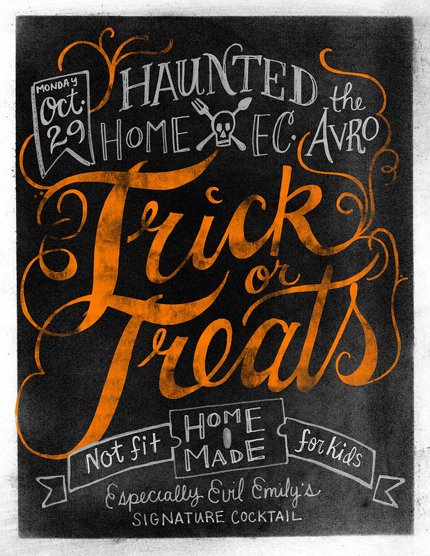 Home Ec #10 Trick or Treat! October
