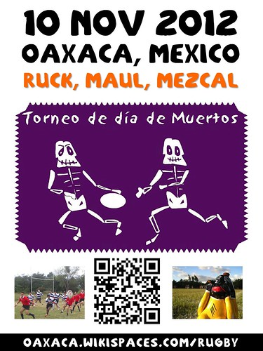 Ruck, Maul, Mezcal: Oaxaca Hosts Rugby Tournament in November #oaxacatoday