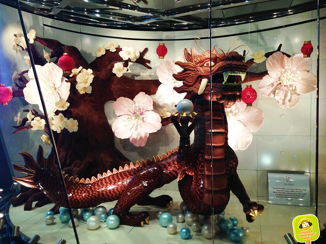 Jean Philippe Patisserie - chocolate dragon - Las Vegas