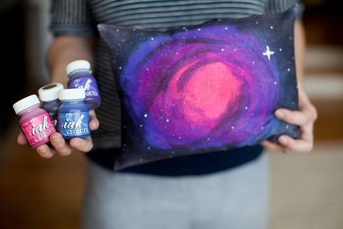 Galaxy funda de almohada