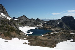 Ice Lakes Backpack Trip