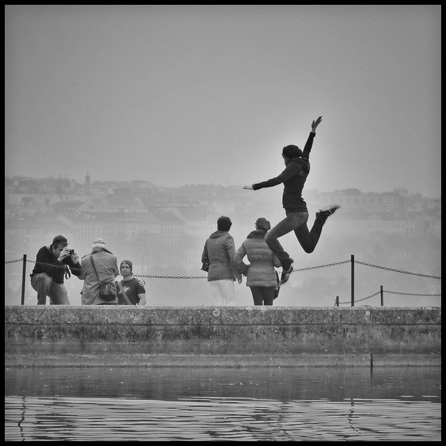 365 days / day 229 - Jump for joy
