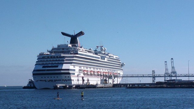 Carnival Cruise Ship In Long Beach  Flickr  Photo Sharing