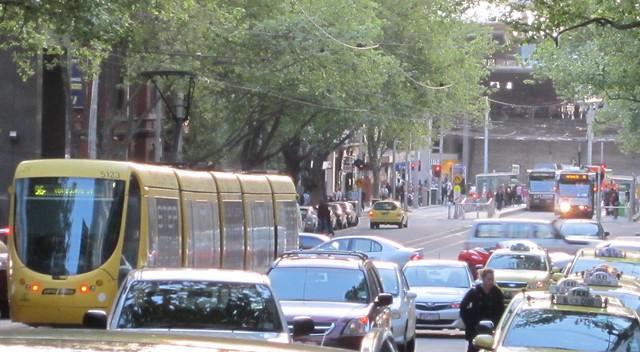 Bourke Street trams