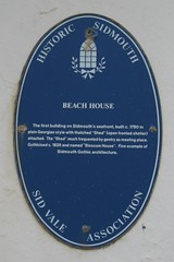 Photo of Beach House blue plaque