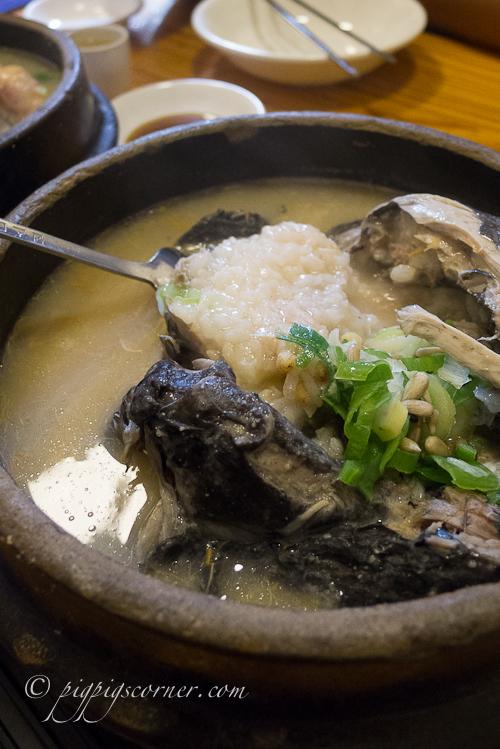 Tosokchon Samgyetang, 토속촌 土俗村参鸡汤