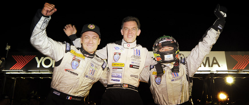 Petit Le Mans victory and LMP2 titles for 2012 again for KENNOL