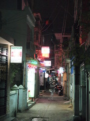 Alleys Around the Pham Ngu Lao Backpacker Area
