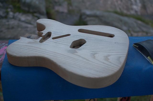 Sanding, 120 done