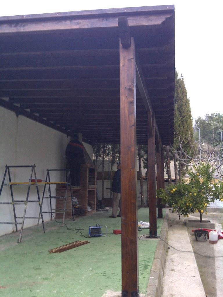 Otros techos verdemar roquetas construcciones - Madera tratada para exterior ...