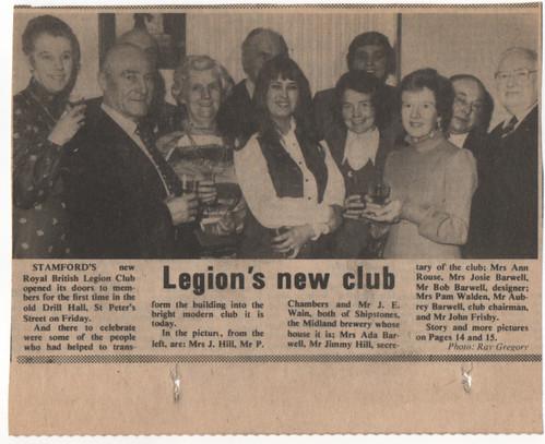 Opening Legion's new club