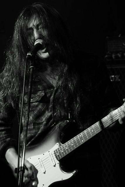 O.E. Gallagher live at Shimbashi ZZ, Tokyo, 21 Oct 2012. 096