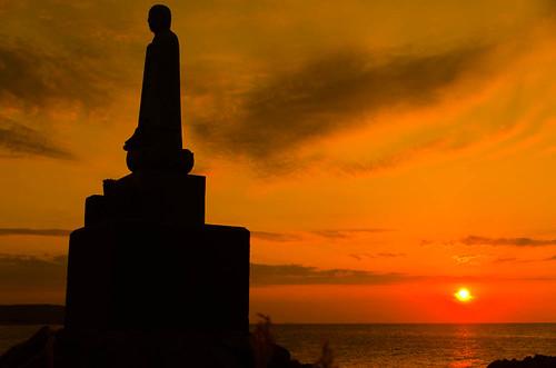 sunset 日本 島根県 江津市