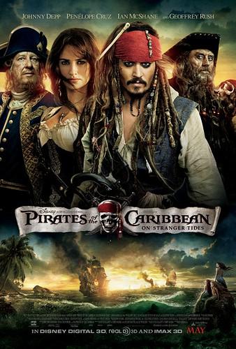加勒比海盗4:惊涛怪浪 Pirates of the Caribbean: On Stranger Tides(2011)