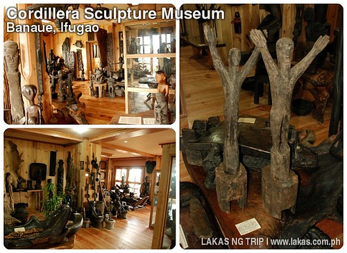 Cordillera Sculpture Museum in Banaue, Ifugao