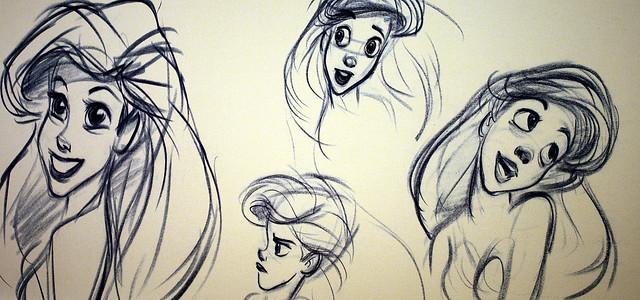 Photo:Ariel animation drawing By:Jenna.Wentz_Photography