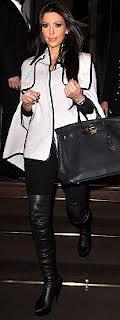 Kim Kardashian Cape Coat Celebrity Style Women's Fashion 1