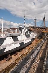 Dazzle ship, Portsmouth