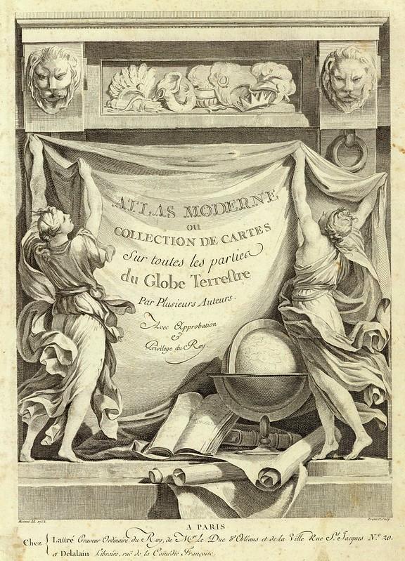 Atlas moderne ou collection de cartes sur toutes les parties du globe 1791