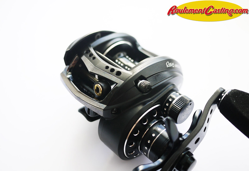 Abu Garcia Revo Magnesium Orange seals BocaBearings 2
