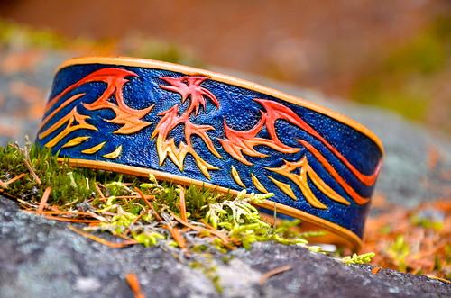 Celtic Phoenix Collar