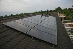 solar panel, solar energy, roof, solar power, facade,