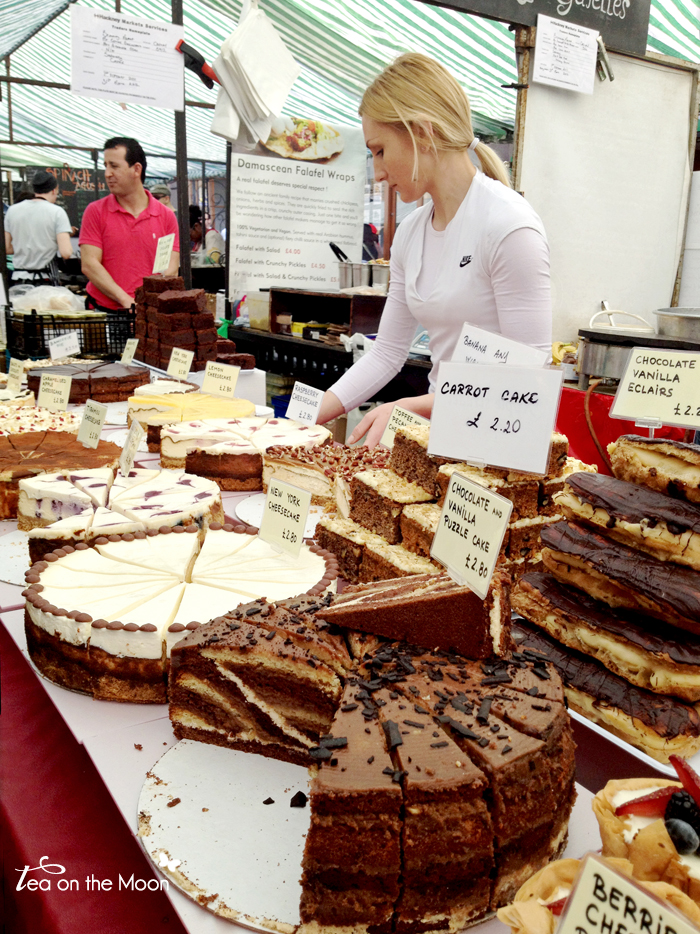 Broadway market london cakes