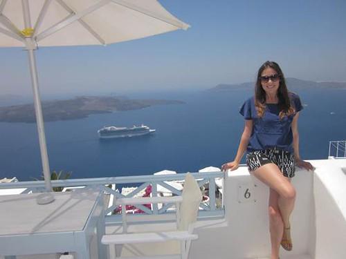Monica Boundy in the Greek Islands