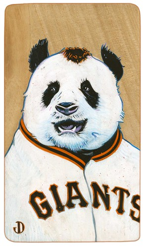 Panda, 2012 by Jason Dryg