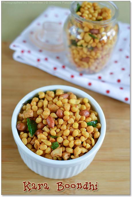 Kara Boondhi Recipe