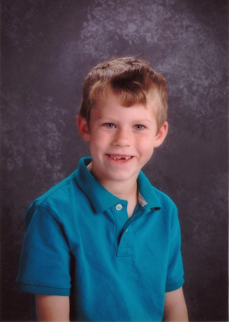 Benjamin Second Grade School Portrait
