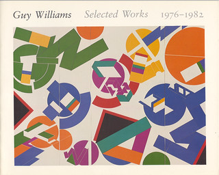 Guy Williams Exhibition Catalog (front cover)