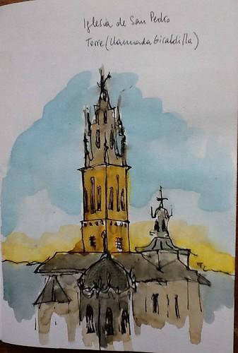 Carmona. Iglesia de San Pedro.