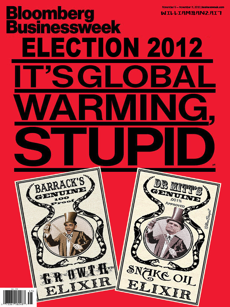 BLOOMBERG BUSINESS WEEK GLOBAL WARMING COVER