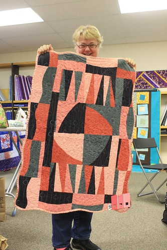 Columbus Modern Quilt Guild Wonky Challenge Winners
