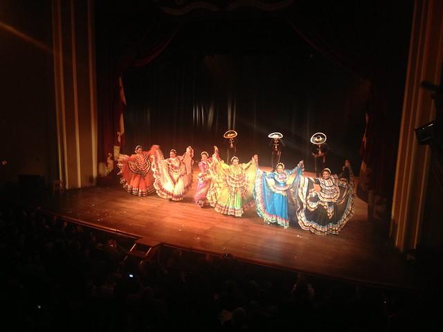 Presentación del Ballet Folklórico Xokpalli