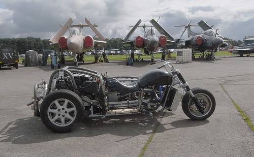 cadillac V8 sidecar/trike