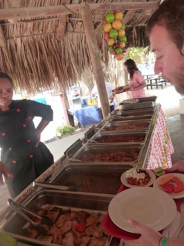 Colombia | Islas del Rosario | Buffet
