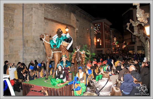 7 Cabalgata de Reyes de Briviesca 2.013
