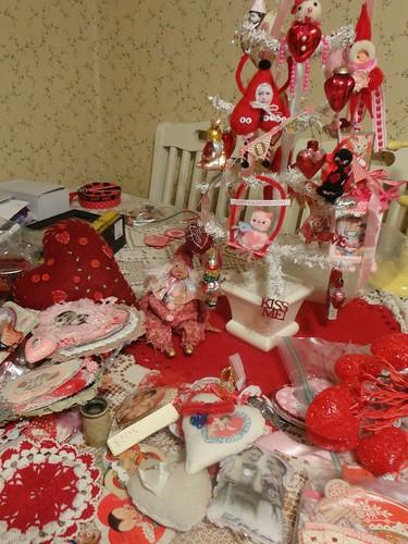 valentine mess