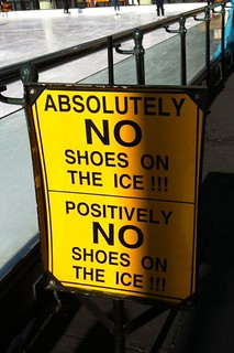 Day 10 Ice rink Signage