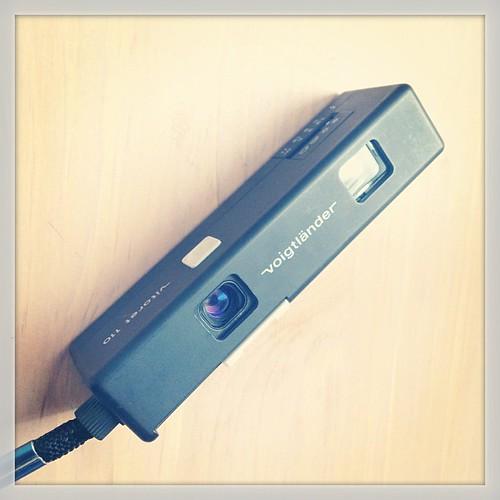 Feeling 70s? Try this tiny Voigtländer Vitoret 110 camera from 1976. #neoretrogizmos