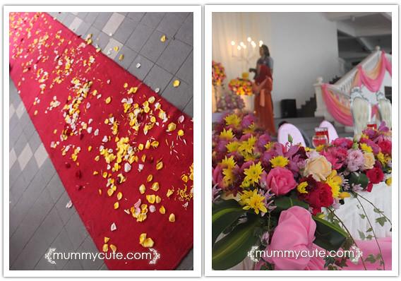8364055375 cd6134f819 z Majlis kahwin Akhnaz  tema warna  kuning